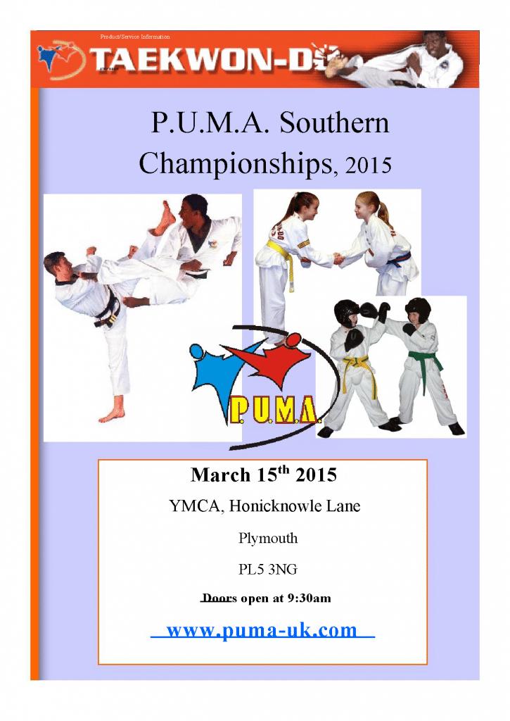 PUMA Southern 2015 Poster