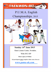PUMA English 2015 Poster
