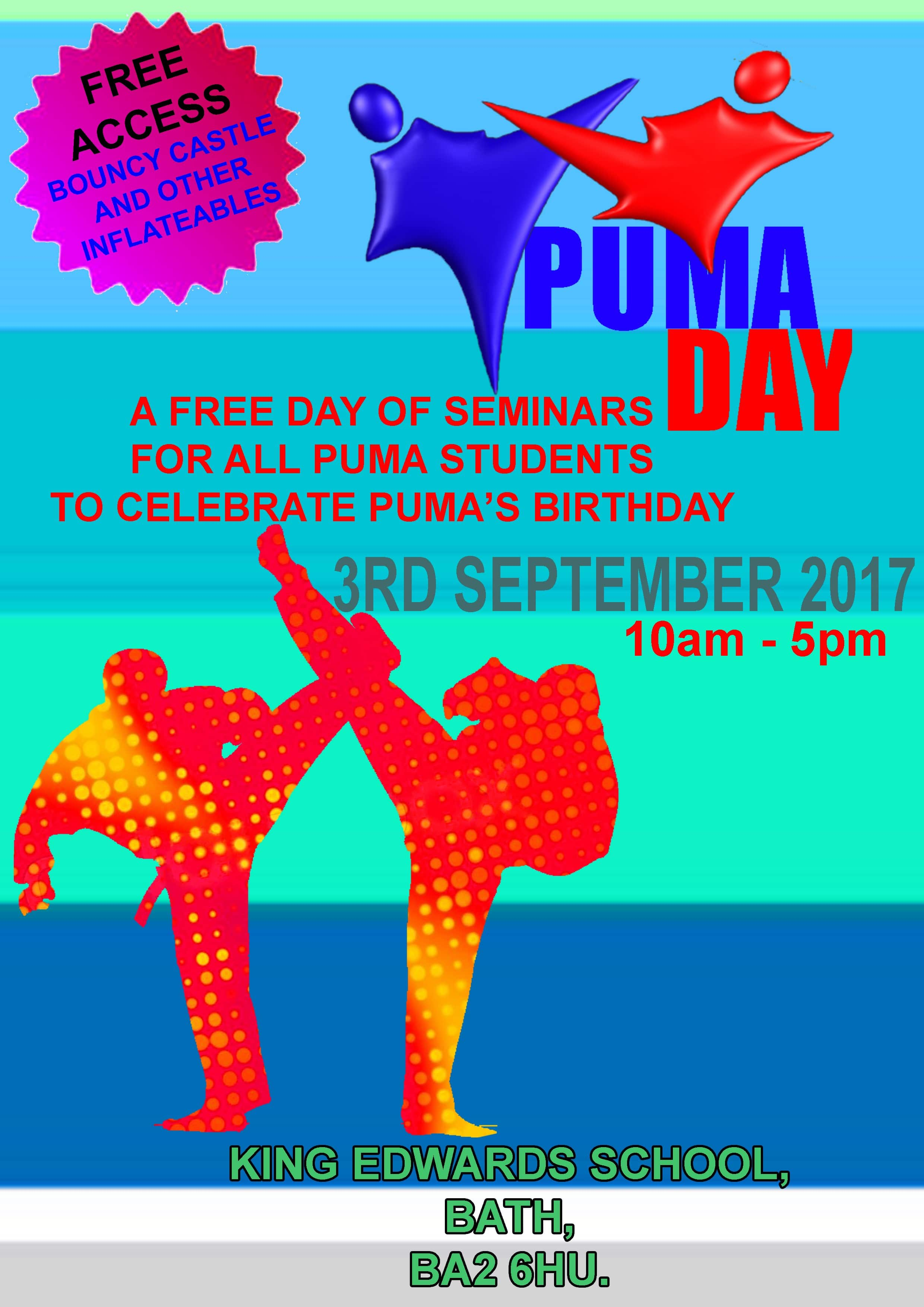 PUMA DAY Poster 2017