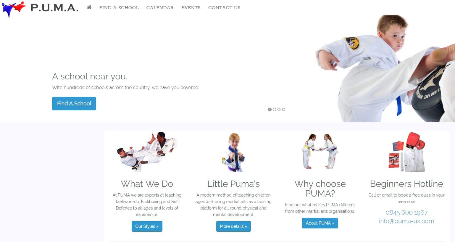 New PUMA Website