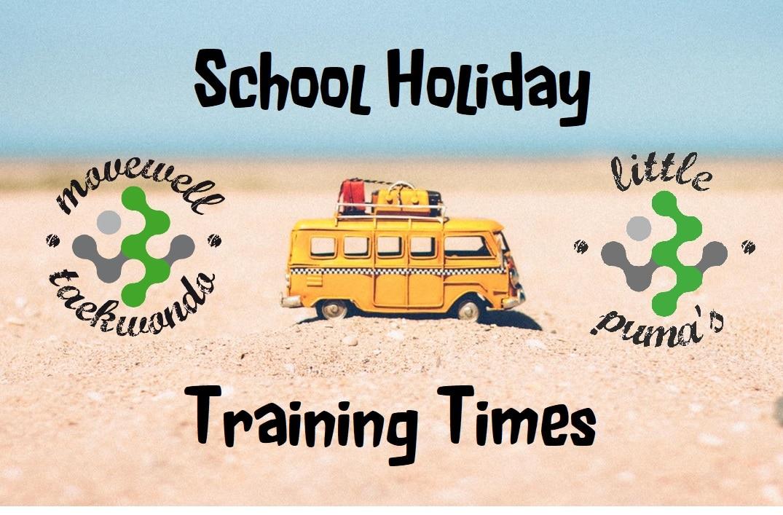 MW School Holidays