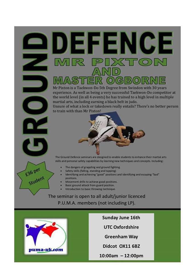 Ground Defence Poster 16-6-2019