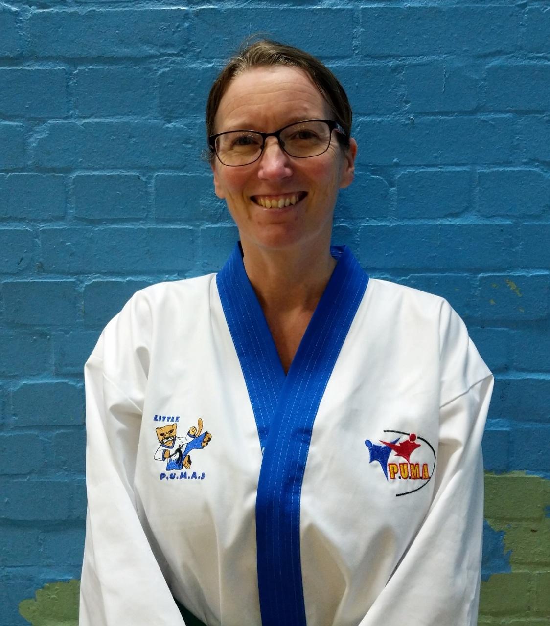 Mrs Zoe Gurr, 4th Kup - Little PUMA Assistant Instructor