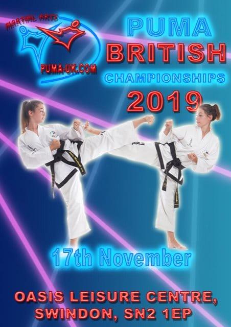 Puma 2019 British championship poster