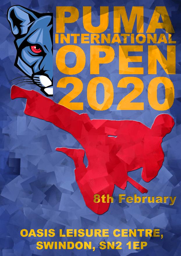 PUMA International Open 2020 poster