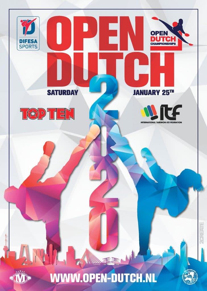 Open Dutch Championships 2020 Poster