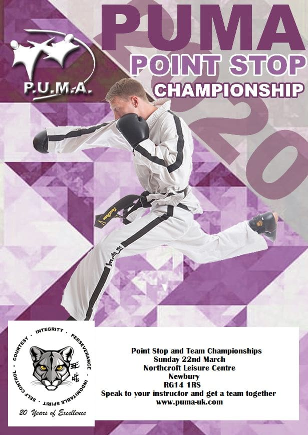 PUMA Point Stop Championship poster