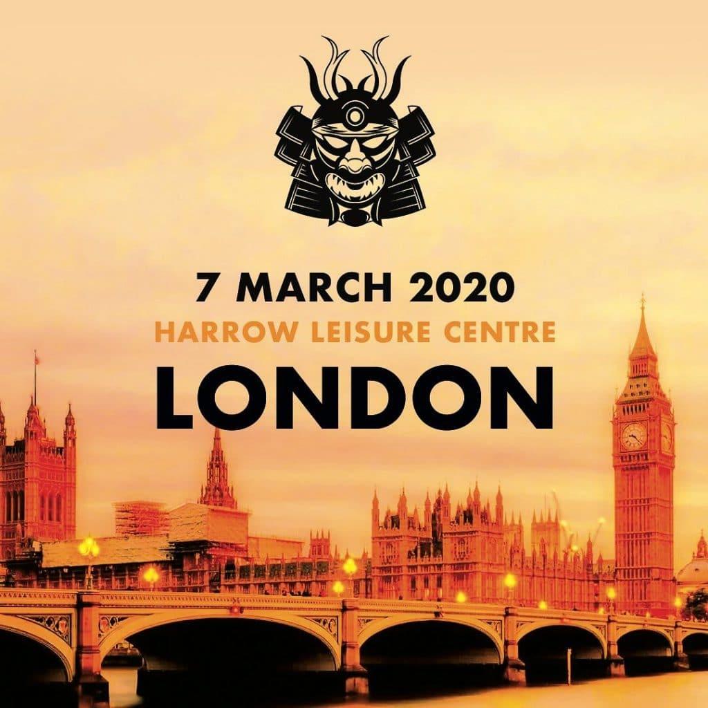Poster of the Warrior Open-Westminster bridge-Big Ben-orange colours review