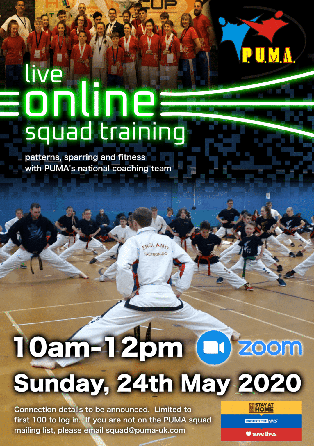 Online squad training session-24 May 2020
